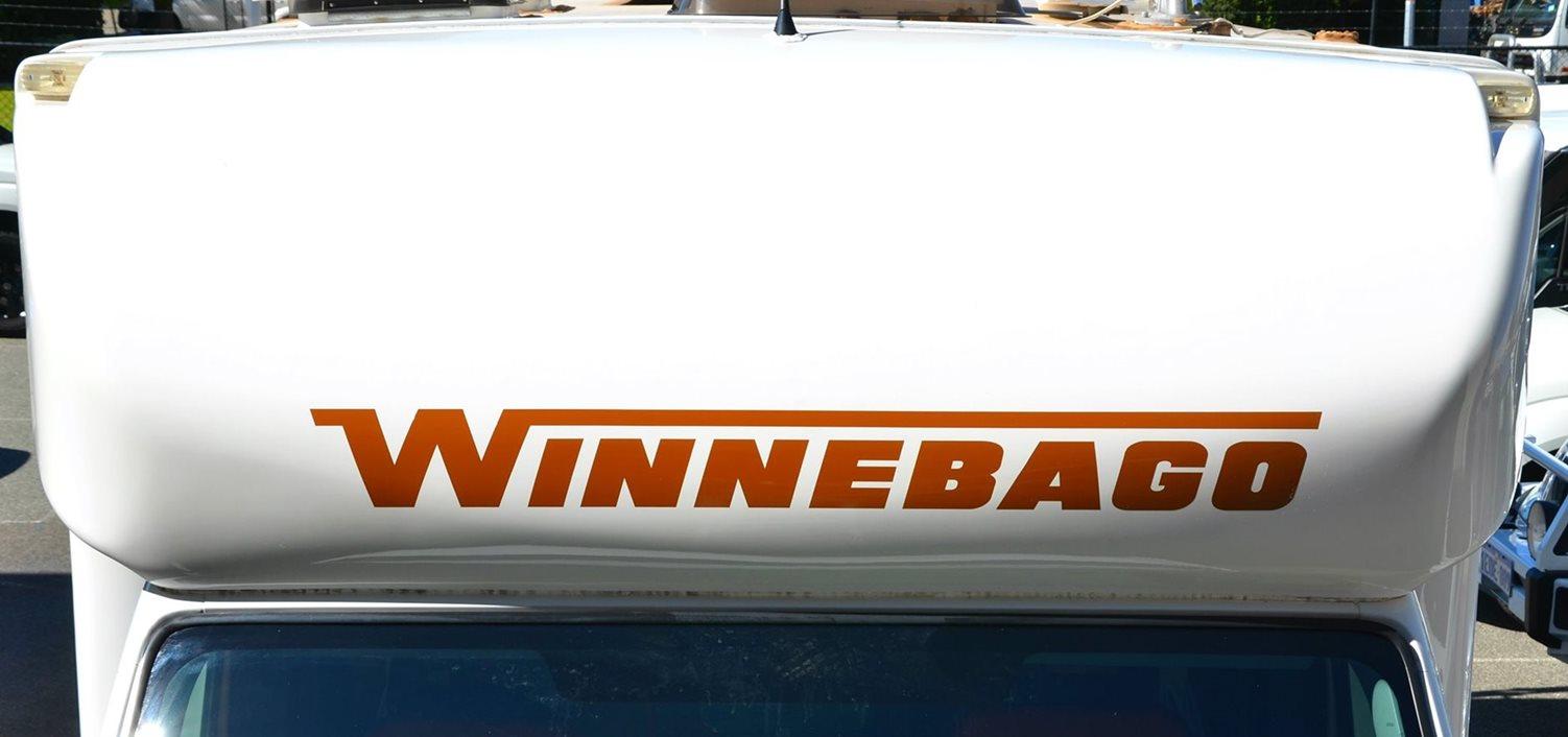 Winnebago nose cone restored to like new