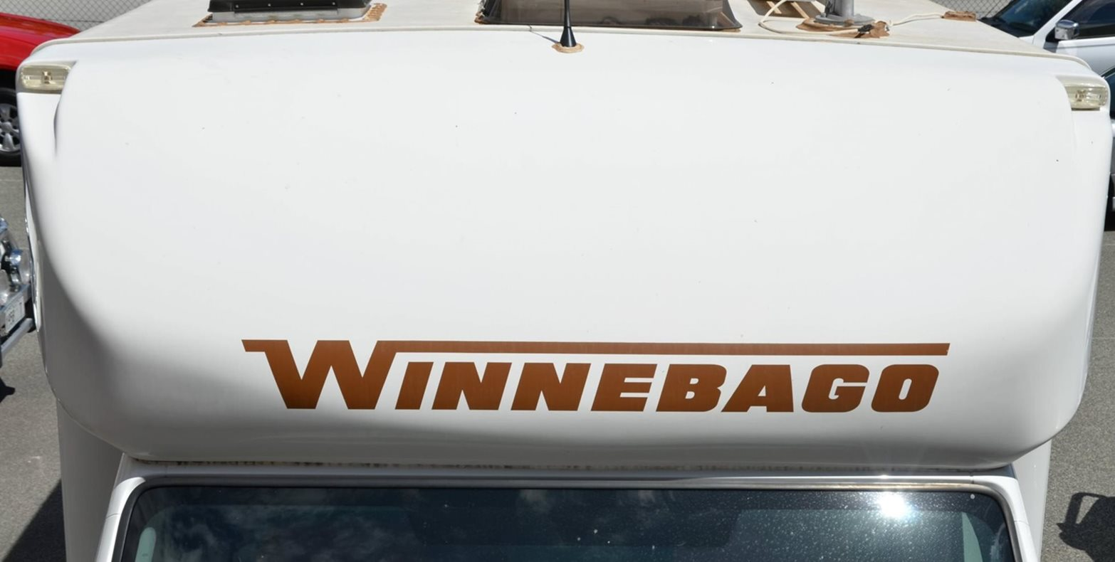 Winnebago nose cones are known for fading